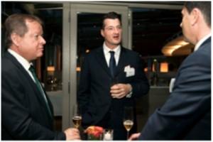 Uwe Reichert, EVP Motor Technology, WOCO (left) ,Christoph Helmut Holzapfel, President/CEO at Friedola TECH (mid) and Dr.Zeljko Matijevic, CEO, Kromberg& Schubert (right)