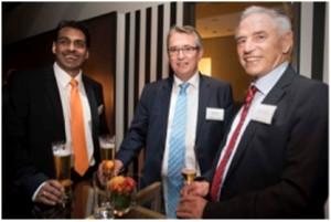 Parag Shah, Director Research & Development, Dr. Schneider (left) – Karl Fröschl, Managing Director, Gebauer& Griller (middle) – Günter Murmann, Chairman of the Board, Dr. Schneider (right)