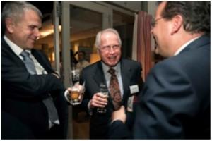 Dr.ZeljkoMatijevic, CEO, Kromberg& Schubert (left) – Hans-Otto Kromberg, Managing Director, Kromberg& Schubert (mid) – Wolfgang Doell, President, LIASE Group, (right).