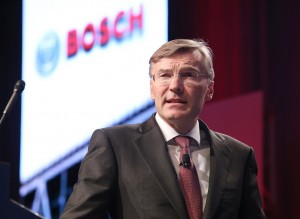 Wolf-Henning Scheider, Member of the Board of Management, Robert Bosch GmbH, discussed how the world's largest automotive supplier is getting developing the technology for autonomous driving on the highway.
