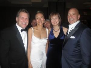 John Bukowicz, Vanessa Moriel and Lear Global CEO Matt Simoncini.