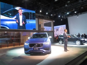 Volvo CEO, Hakan Samuelsson, said he wants to reach 100,000 units in sales annually in the United States. Last year, it sold just 56,366. Volvo's CEO seemed to hint that the company's rejuvenation in the U.S. would at least in part come from growth in e-ordering of vehicles. He also confirmed that the brand's new flagship sedan, the S90, would be built in China on a new platform and is being considered for export. Volvo also introduced a unique offering in the luxury segment, an all-wheel drive all-road sedan crossover.