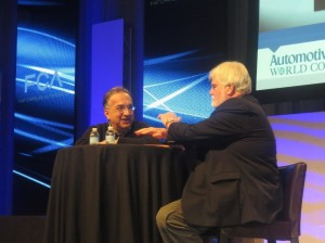 Fiat Chrysler Automobiles CEO Sergio Marchionne (left), talked about the high number of recalls in the U.S. automotive market in 2014. He believes that the recalls were in part caused by a shift in attitudes between regulators and the industry.