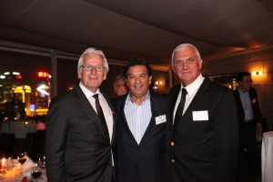 Left to right : RAI Industry Platform, Chairman of the Board, Eddy van der Vorst;   PAC Group, CEO, Shah Firozzi; and, NJF – Cie Automotive China, Chairman of the Board, John Mack.