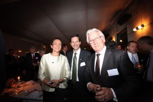 Left to right: LIASE Group, Managing Director Asia, Vanessa Moriel; Valeo China, China Group President, Edouard de Pirey; and, RAI Industry Platform, Chairman of the Board, Eddy van der Vorst.