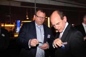 RDW WVTA Autohoties, CDO, George Molenaar and Röechling Automotive, Chief Executive Officer, Erwin Doll.