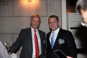 Brose Fahrzeugteile GmbH & Co. KG, Head of Development, Wolfgang Sczygiol together with LIASE Group, Managing Director Americas, John Bukowicz.