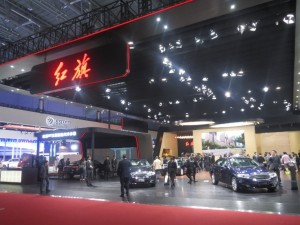 Chinese limousine maker Hongqi launched the new LS5 full-size luxury limousine in Shanghai. The new SUV was one of the most talked about vehicles unveiled in Shanghai. The LS5 will be competing with cars such as the Porsche Cayenne, the BMW X5, and the Mercedes-Benz M-Class. Hongqi, which is owned by FAW, has a certain prestige in China due to its historical links with the communist leadership.