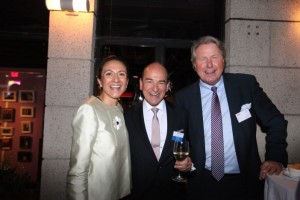 Left to right : LIASE Group, Managing Director Asia, Vanessa Moriel; Röechling Automotive, Chief Executive Officer, Erwin Doll; and, WKW Erbslöh Automotive GmbH, Managing Director, Günther Rahner.