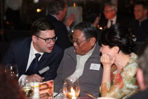 Left to right: TomTom Navigation Technology (China) Co., Ltd., Managing Director, Tjerk-Friso Roelfzema; PAC Group, Vice President Business Development Asia Pacific, Frank Chou; and, Ascend Capital Partners, CEO, Monita Mo.