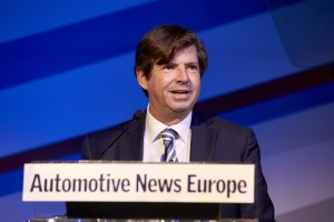 Olivier Francois, President & CEO Fiat Brand CMO, FCA-Global speaking at the 2015 ANE Congress.