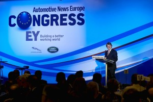 Dr. Ralf Speth, CEO, Jaguar Land Rover was the keynote speaker at the Congress gala on the evening of the 10th.