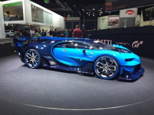 Bugatti's Vision GT Concept caught the eye of many a car lover in Frankfurt. Unfortunately for anyone who wanted to own one, the concept car is not intended for production, but for a game console. The Vision GT was designed and engineered for Playstation's Gran Turismo 6. Nevertheless, the Vision GT was understood to preview the new design language for Bugatti.