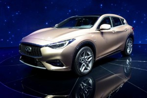 Infiniti unveiled the Q30, a small crossover/hatchback presently only available in the sport and premium versions.