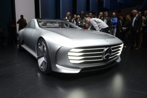 The Mercedes IAA concept garnered significant media attention due to its high-tech take on aerodynamics and automotive design.