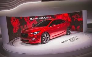 The Subaru Impreza Sedan Concept is an American-friendly version of the Impreza 5-Door Concept that had been presented earlier at the Tokyo auto show.