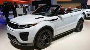The Range Rover Evoque Convertible fit perfectly with the mood in sunny California. Although the convertible crossover might not be for everyone, it might find its niche as a lifestyle car in the wealthier parts of LA.