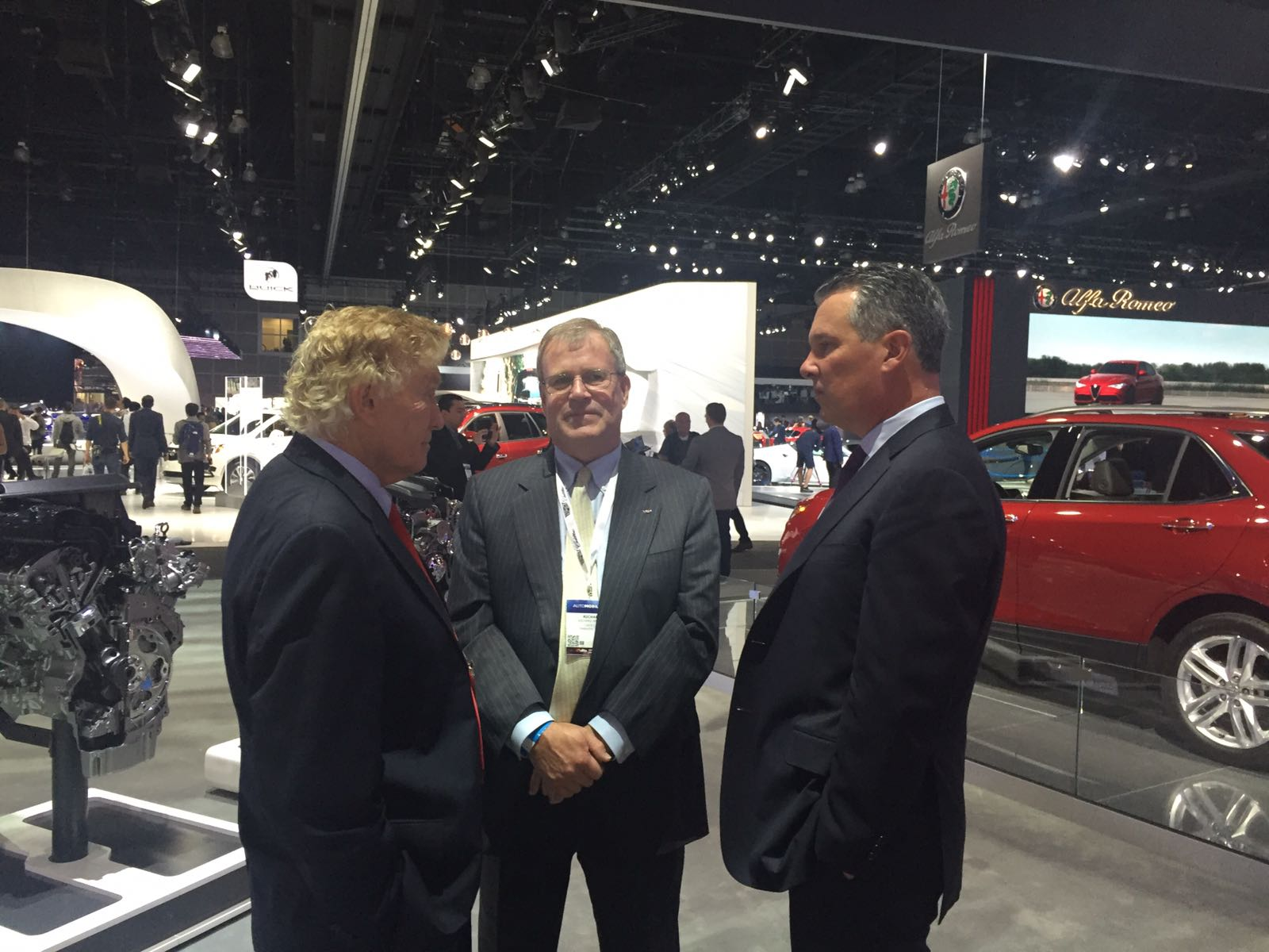 LIASE Group Non-Executive Board Member Vic H. Doolan with GMC executives.