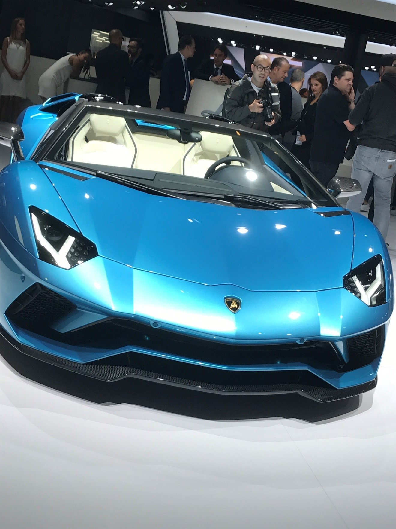 The Lamborghini Aventador S Roadster made its public debut at the 2017 Frankfurt show. In continental Europe the sportscar will be priced at EUR 313,666 and around $460,000 in the USA. Deliveries are scheduled to begin in February 2018.