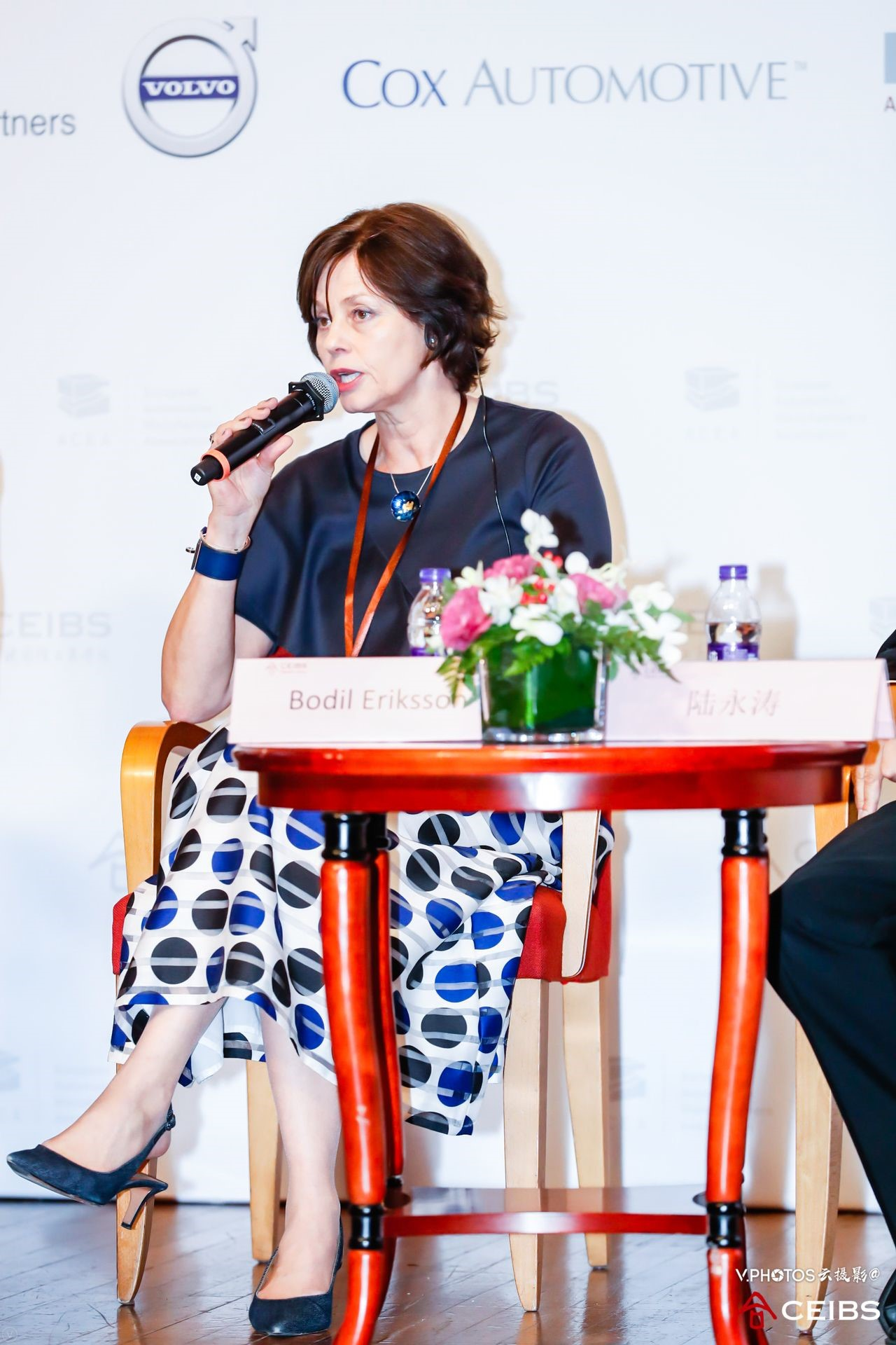 Ms. Bodil Eriksson, Chief Executive Officer, Volvo Cars Mobility at the 15th CEIBS China Automotive Industry Forum