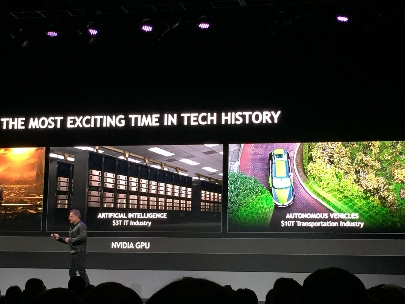 In a keynote address, NVIDIA CEO Jensen Huang unveiled a slew of news and initiatives. He talked about training AI in virtual space as well as the certification of NVIDIA's drive stack to ISO 26262 standard, with full functional safety.