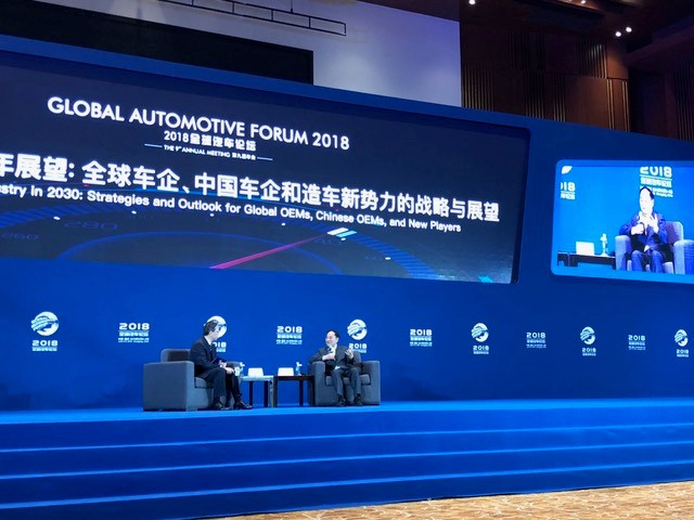 Mr. Li Shufu, Chairman of Zhejiang Geely Holding Group.