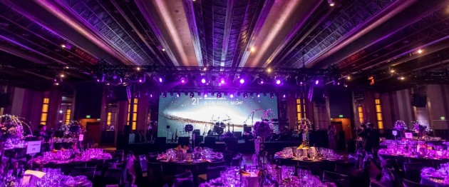 German Ball dinner at the Grand Hyatt Hotel in Shanghai