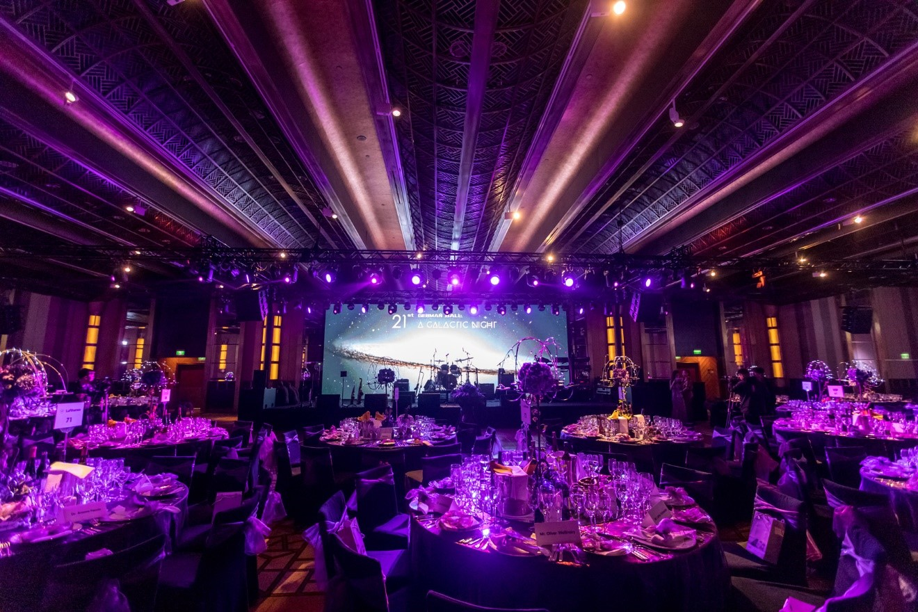 German Ball dinner at the Grand Hyatt Hotel in Shanghai