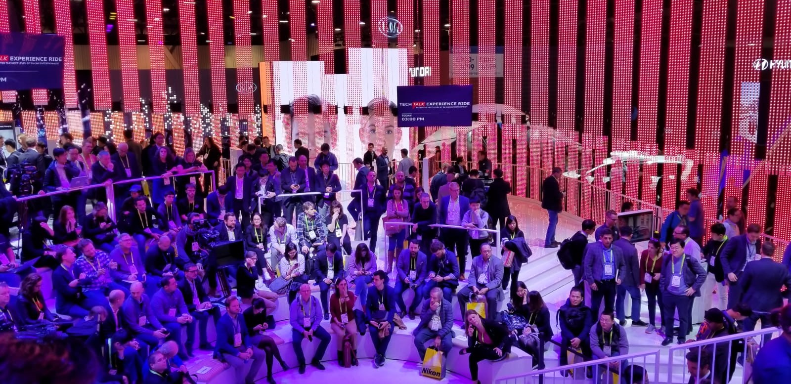 Google's CES showcase featured its own mini amusement park. The company also announced a series of new automotive features for its Google Voice Assistant.