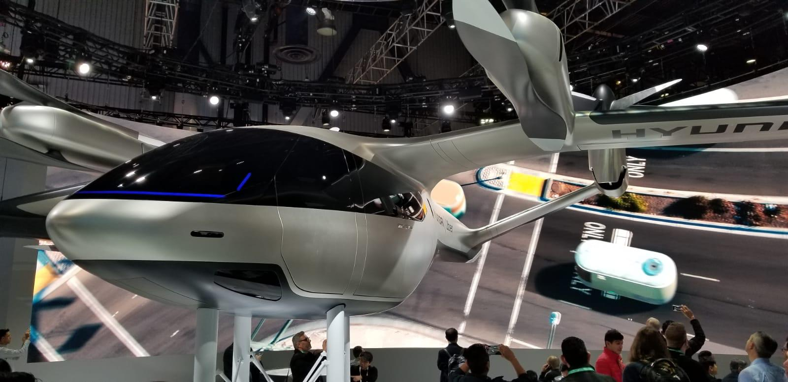 Hyundai presented a new invention of the next generation, Air taxi